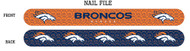 Denver Broncos Nail File