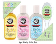 University Of Georgia 4pc Baby Gift Set