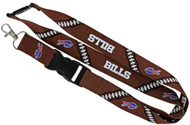 Buffalo Bills Football Laces Lanyard