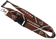 Atlanta Falcons Football Laces Lanyard