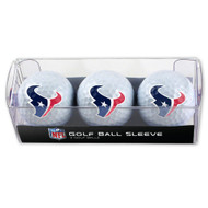 Houston Texans Golf Balls - 3 pc sleeve