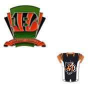 Cincinnati Bengals Logo Field Pin and Jersey Pin