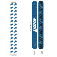 Detroit Lions Nail File and Nail Decals