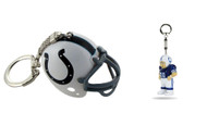 Indianapolis Colts Helmet and LIL' SPORTS BRAT Keychain