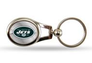New York Jets Oval Keychain