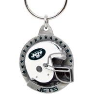 New York Jets Pewter Keychain