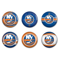 New York Islanders Buttons 6-Pack