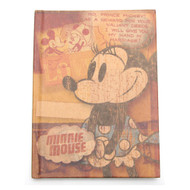 Retro Minnie Mouse Diary