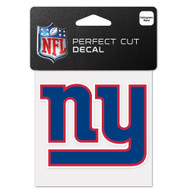 "New York Giants 4""x4"" Team Logo Decal"
