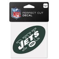 "New York Jets 4""x4"" Team Logo Decal"