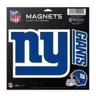 "New York Giants 11""x11"" Car Magnet Set"