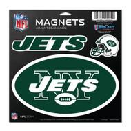 "New York Jets 11""x11"" Car Magnet Set"