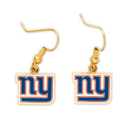 New York Giants Dangle Earrings