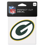 "Green Bay Packers 4""x4"" Team Logo Decal"