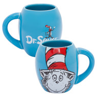 Dr. Seuss Cat in the Hat 18 oz. Oval Ceramic Mug