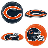 Chicago Bears Sport Dotts Glass Magnets (2-Pack)