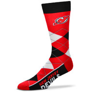 New Jersey Devils Argyle Socks