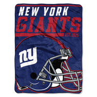 "New York Giants 45""x60"" Super Plush Fleece Blanket"