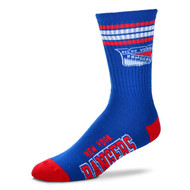 New York Rangers Large '4 Stripe' Deuce Socks