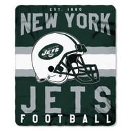 "New York Jets 50""x60"" Fleece Blanket"