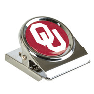 University of Oklahoma Metal Magnet Clip