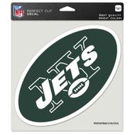 "New York Jets 8""x8"" Team Logo Decal"