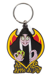 Wicked Witch Soft Touch PVC Keychain