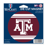 "Texas A&M University Die Cut Magnet 4.5"" x 6"""