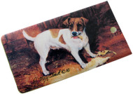 Jack Russell Luggage Bag Tag