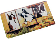 Boston Terrier Luggage Bag Tag