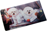 Bichon Frise Luggage Bag Tag