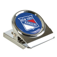 New York Rangers Metal Magnet Clip