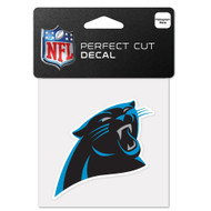 "Carolina Panthers 4""x4"" Team Logo Decal"