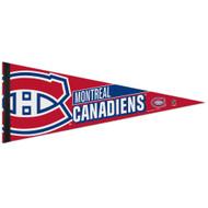 """Montreal Canadiens 12""""x30"""" Premium Felt Pennant"""