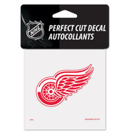 "Detroit Red Wings 4""x4"" Team Logo Decal"