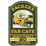 Green Bay Packers Wooden Sign