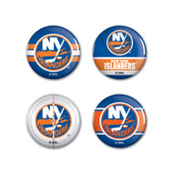 New York Islanders Buttons 4-Pack