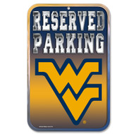 West Virginia Fans Only Reserved Parking Sign