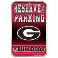 University of Georgia Fans Only Reserved Parking Sign