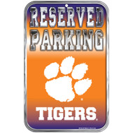 Clemson University Fans Only Reserved Parking Sign