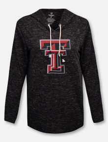 "Arena Texas Tech Red Raiders Double T ""Swizzle"" Hooded Long Sleeve T-Shirt"
