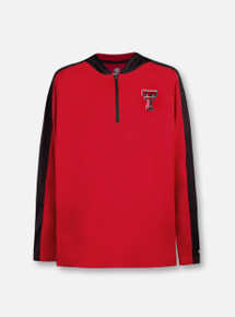 "Arena Texas Tech Red Raiders ""Heliskiing"" TODDLER  1/4 Zip Hoodie Windshirt Pullover"