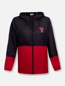 "Columbia Texas Tech Red Raiders Double T ""Flash Forward II"" Women's Windbreaker Jacket"