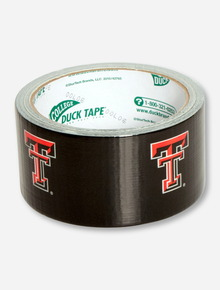 Texas Tech Double T Black Duct Tape