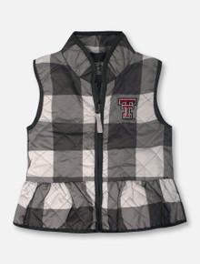 "Garb Texas Tech Red Raiders Double T ""Wendy"" TODDLER Vest"