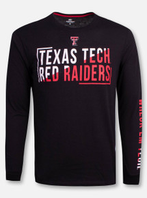 """Arena Texas Tech Red Raiders Double T """"Lutz"""" Long Sleeve T-Shirt"""