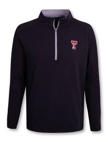 "Under Armour Texas Tech Red Raiders Threadborne ""Ridge"" 1/4 Zip Pullover"