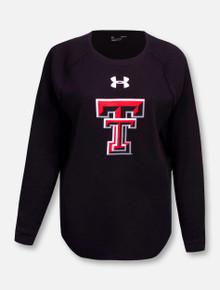 "Under Armour Texas Tech Red Raiders ""Aviator"" Women's Waffle Crew Long Sleeve Shirt"