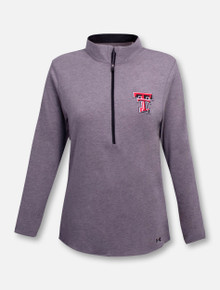 """Under Armour Texas Tech Red Raiders  Women's """"Free"""" 1/4 Zip Pullover"""