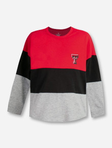 """Arena Texas Tech Red Raiders Double T """"Handplant"""" TODDLER Long Sleeve T-Shirt"""